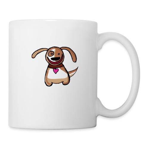 Titou le chien - Mug blanc