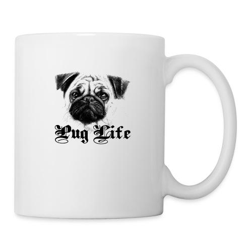 La vie de carlin - Mug blanc