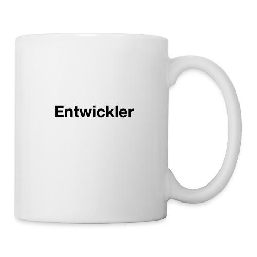 entwickler - Tasse