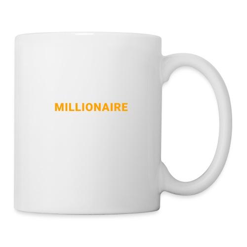 MILLIONNAIRE - Mug blanc