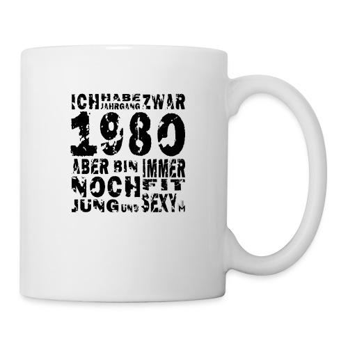 Sexy Jahrgang 1980 - Tasse