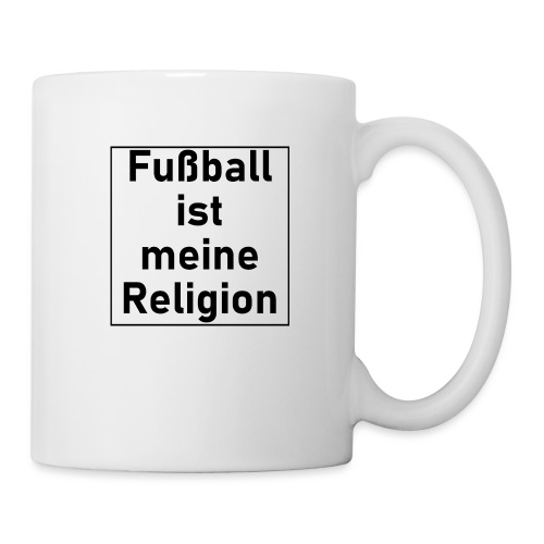 Fußball ist meine Religion V2 - Tasse