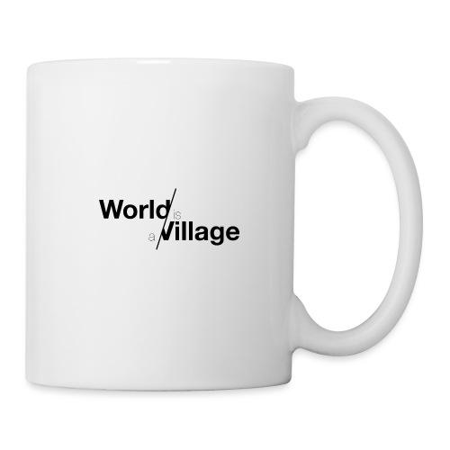 world is a village - Mug blanc