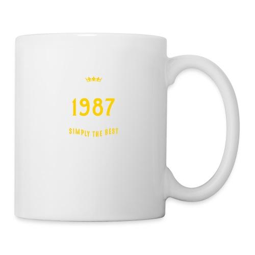 original since 1987 simply the best 30th birthday - Mug