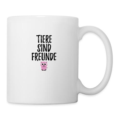 Tiere sind Freunde Piggie Pig - Tasse