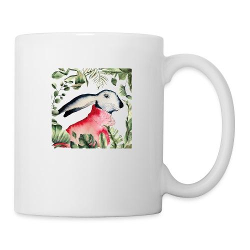 Osterhase im Dschungel - Tasse