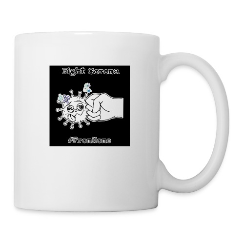 Fight Corona From Home - Tasse