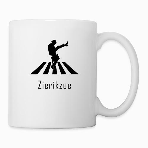 Silly walk zebrapad verkeersbord Zierikzee Zeeland - Mok