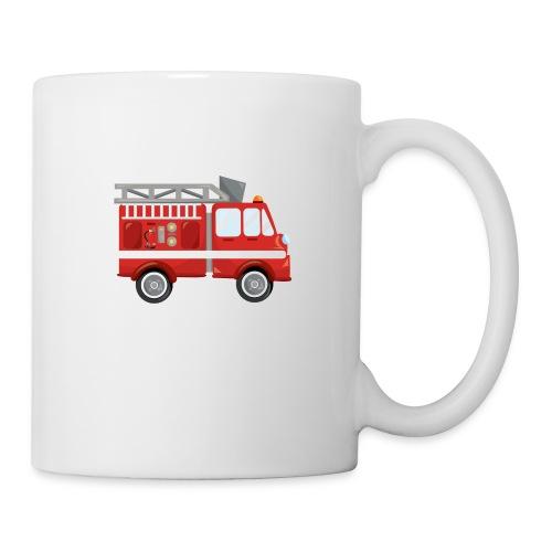 Wóz strażacki Straż pożarna - Kubek