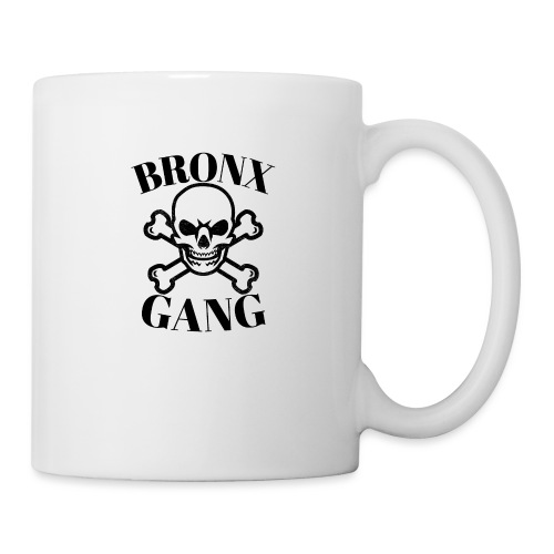 tête de mort gang - Mug blanc