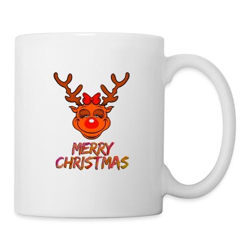 Rudolph weiblich - Tasse