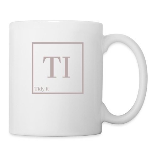 Tidy It - Mug blanc