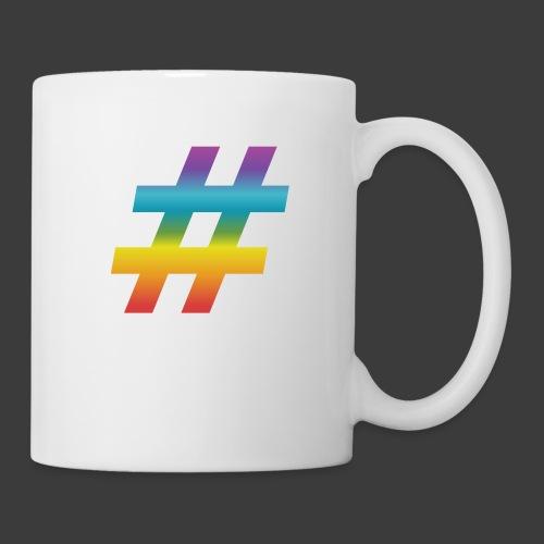 rainbow hash include - Mug