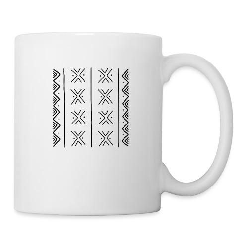 mudcloth-bogolan - Mug blanc