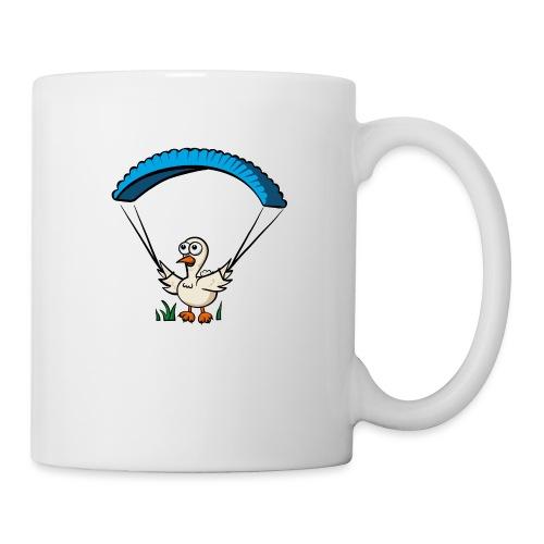 Groundhendl Groundhandling Hendl Paragliding Huhn - Tasse