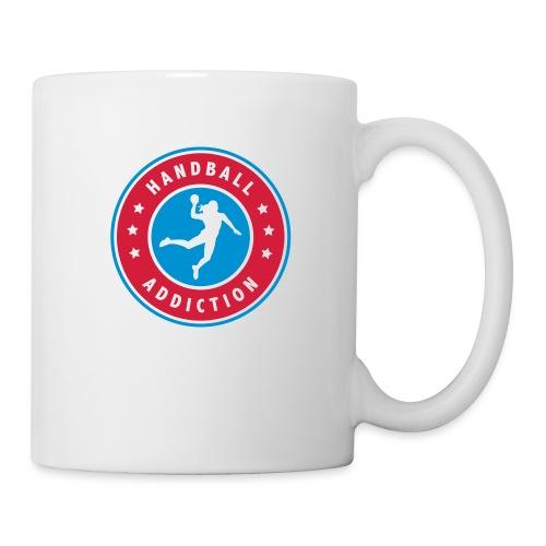 handball addiction femme - Mug blanc