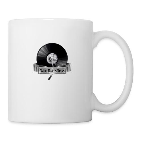WHO DARES SPINS - Mug
