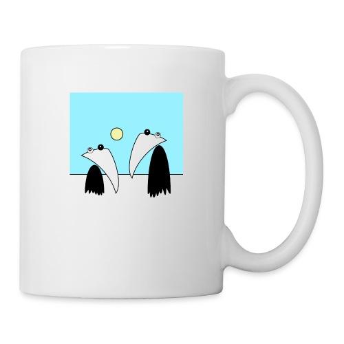 Raving Ravens - antartica - Mug blanc