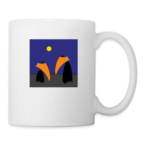 Raving Ravens - Halloween - Mug blanc