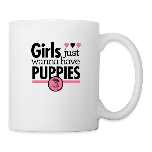 Girls Just Wanna Have Puppies Grey - Tasse