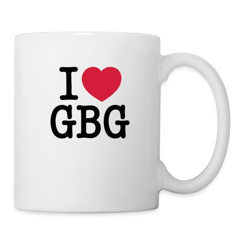 I love GBG - Mugg