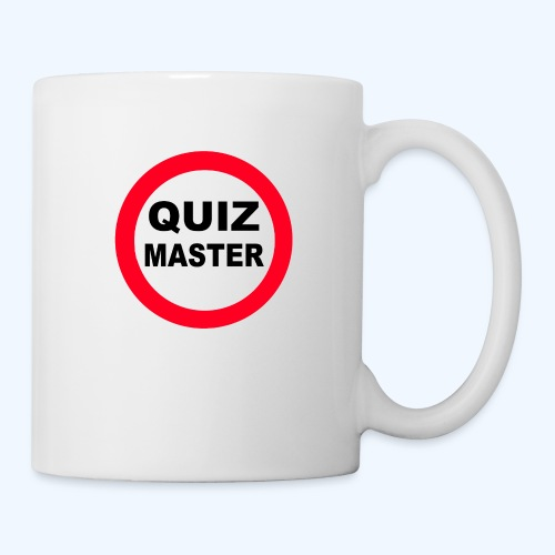 Quiz Master Stop Sign - Mug