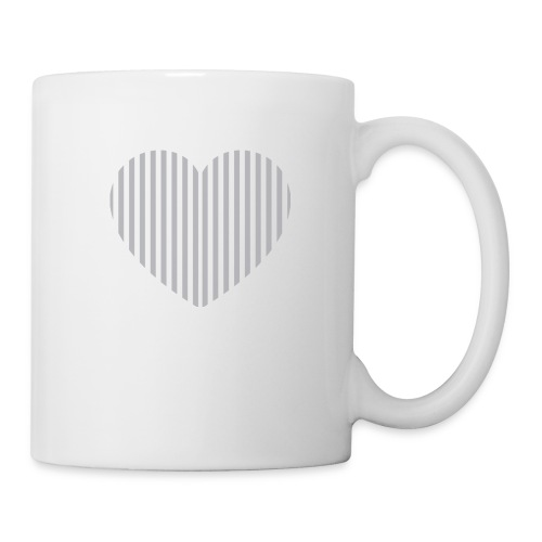heart_striped.png - Mug