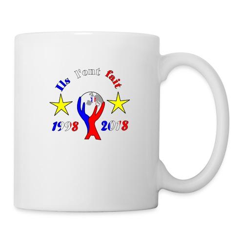 coupe du monde France 2018 football les bleus - Mug blanc