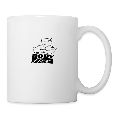 Team body flex blanc - Mug blanc