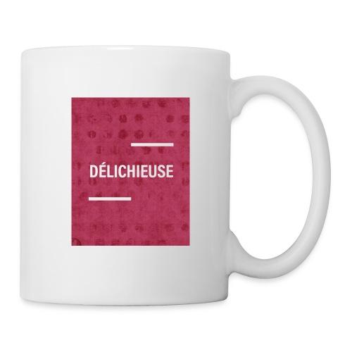 Délichieuse - Mug blanc