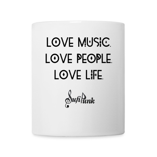 lovemusicpeoplelife 4000- - Mug