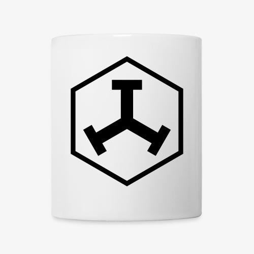 TTT Logo Hexagon Weiss - Tasse