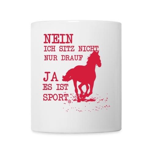 Reiten ist Sport - Tasse