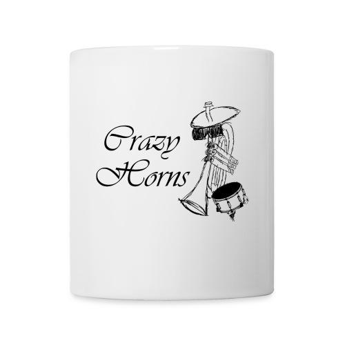 Crazy Horns Logo no music 400dpi 2013 07 31 png - Tasse