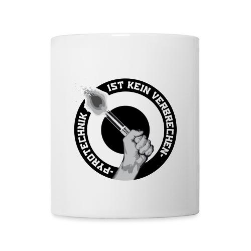 Pyrotechnik ist kein Verbrechen jpg - Tasse