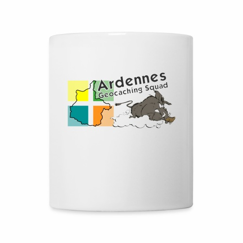 Ardennes Géocaching Squad - Mug blanc