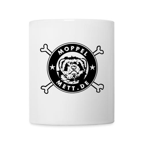 MoppelMett 1 Farbe für weiß - Tasse