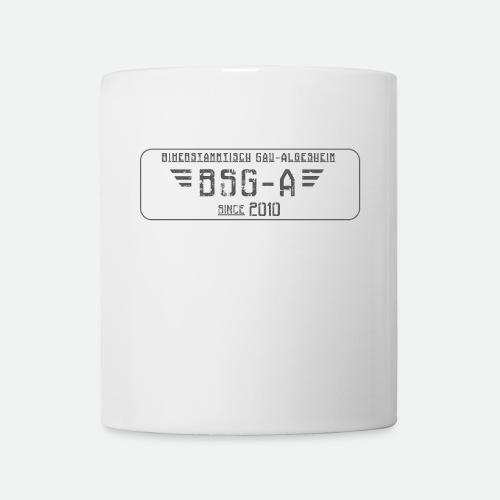BSG A transparent grau png - Tasse