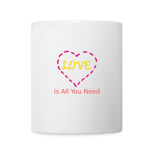 Love is all you need - Tasse