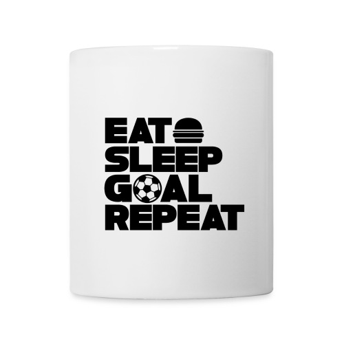 Eat Sleep Goal Repeat - Mug