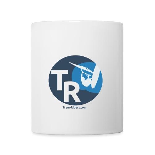 Logo flat design tramride - Mug blanc