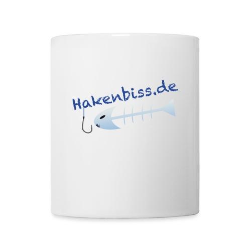 HakenbissLogoBlau - Tasse