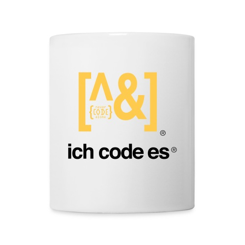 ich code es - Thermobecher - Tasse