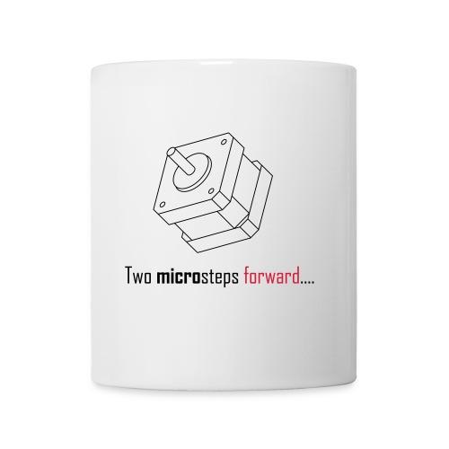 Two microsteps forward.... - Mug