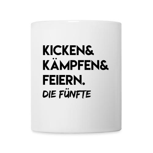 Kicken & Kämpfen & Feiern. Die Fünfte - Tasse