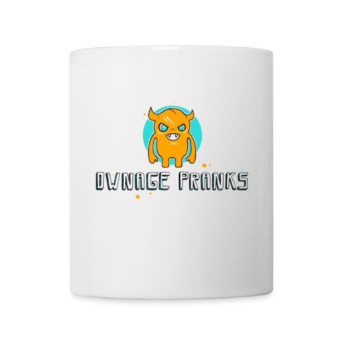 ownagepranks logo orange - Mug