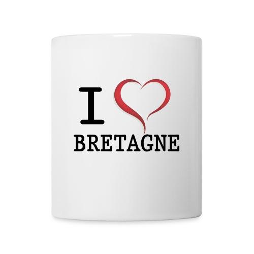 i love bretagne design - Mug blanc