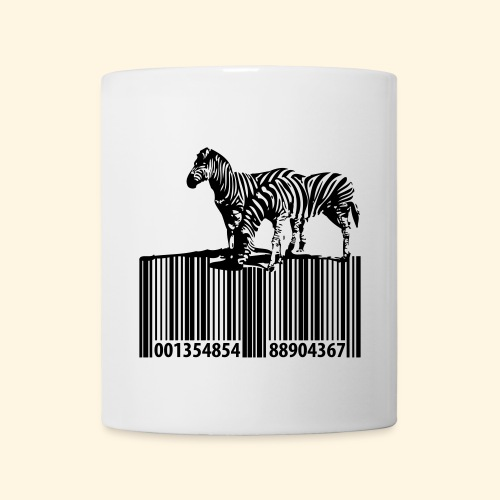 zebra barcode - Tasse
