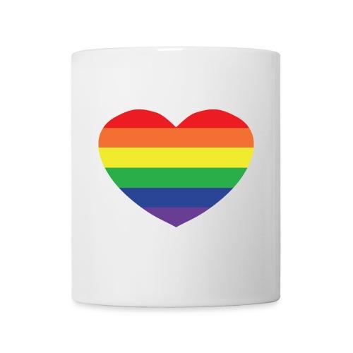 Rainbow heart - Mug