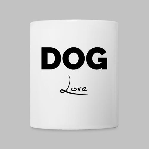 DOG LOVE - Geschenkidee für Hundebesitzer - Tasse
